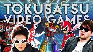 Tokusatsu Video Games PART 1 - Squall Charlson