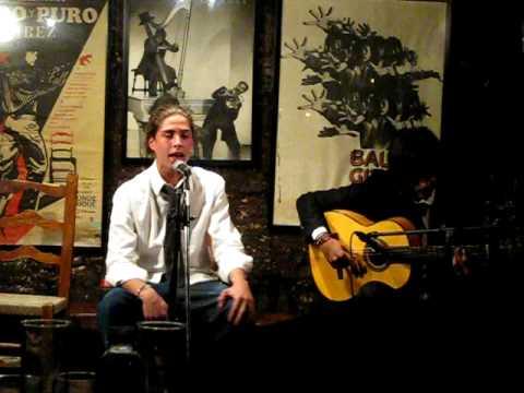 Jóvenes flamencos - Juan Habichuela (nieto) y Enrique Morente (hijo)