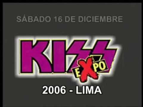 Spot de BRUCE KULICK en la KISS-Expo 2006 Lima
