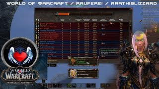World Of Warcraft - Bfa - PvP Rauferei Arathiblizzard : Winterarathibecken - (13-0 Kills) -Schurke