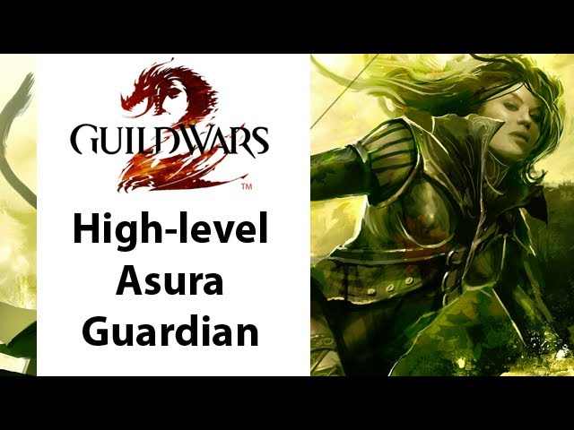  Guild Wars - Guild Wars 2 High Level Asura Guardian Gameplay - Part 1