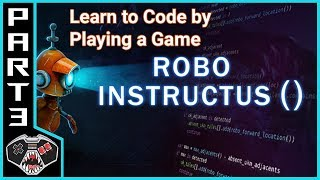 """Let's Play Robo Instructus ()   """"Orienteering""""   Gameplay Commentary   Learn to Code"""