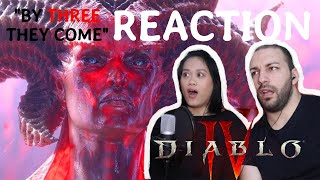 Diablo IV Announce Cinematic | By Three They Come | REACTION