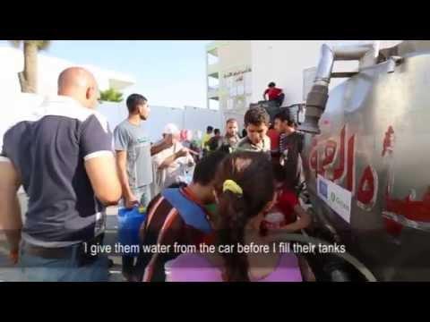 Delivering safe water in Gaza