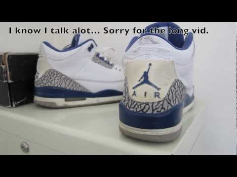 How To Fix Jordan 3 Heel Tab Cracking Tutorial! (Watch in HD)