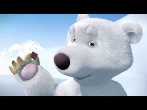 Маша и Медведь - Мишка на севере HD