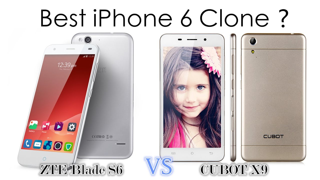 Zte Blade s6 vs Iphone 6 【zte Blade s6 vs Cubot