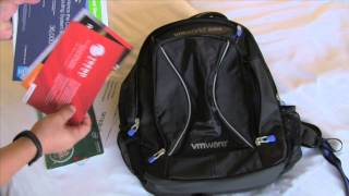 VMWorld 2014 - unpacking the backpack