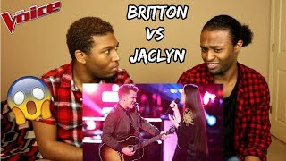 "Download Lagu The Voice 2018 Battle - Britton Buchanan vs. Jaclyn Lovey: ""Thinking Out Loud"" (REACTION) Gratis STAFABAND"