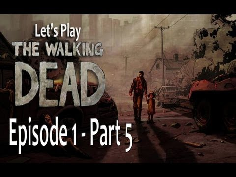 Let's Play The Walking Dead - Episode 1 [Part 5] Hotel Room