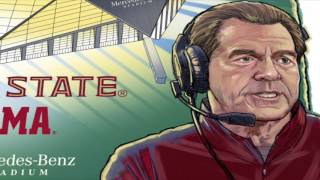 Alabama vs. FSU - Chick-fil-A Kickoff Game Hype Video