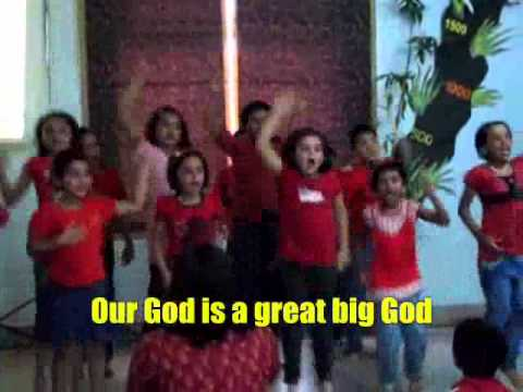 Our God Is A Great Big God (lyrics Included) video