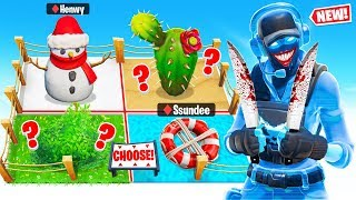 The KILLER Chose This TINY PROP HUNT Map (Fortnite)