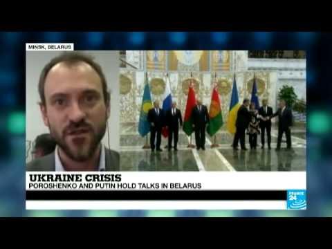 Ukraine Crisis - Poroshenko and Putin hold talks in Belarus