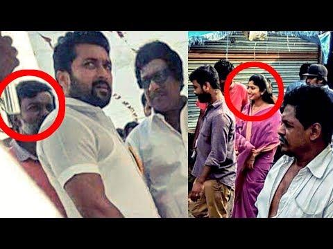 Suriya's MASS LOOK in NGK | NGK Shooting Spot | Sai Pallavi | Selvaraghavan