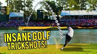 INSANE GOLF TRICK SHOTS YOU WON'T BELIEVE!