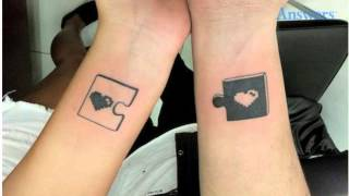 Couples Tattoos So Cute and Clever You'll Want To Copy Them