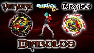 Beyblade Burst GT Venom Diabolos Unboxing and Battle