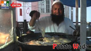 POTATO WADA   AALU WADA - Kolhapuri Street food - World Street food