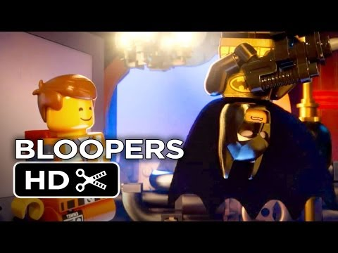 The Lego Movie BLOOPERS (2014) - Chris Pratt, Morgan Freeman Movie HD