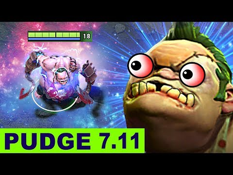 NEW PUDGE DOTA 2 PATCH 7.11 NEW META GAMEPLAY #51 (FUNNY MOMENTS PATCH 7.11 UPDATE)