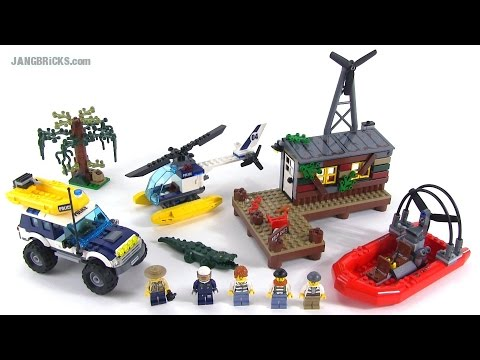 LEGO City Crooks' Hideout review! set 60068
