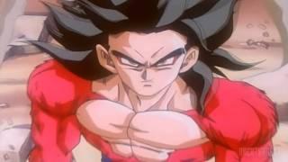 DBGT - Baby Vegeta's First Revenge Death Ball Against Goku (SSJ4) ~ [2K Remastered HD]