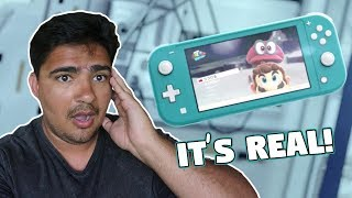 Reacting to the Nintendo Switch Lite Reveal Trailer