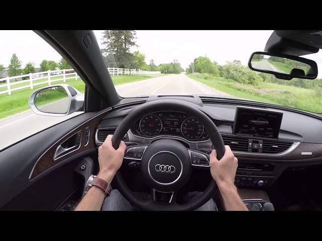 2016 Audi A6 3.0T quattro - WR TV POV Test Drive - YouTube