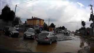 Addis Ababa ( road from Gabon Street  to Bole Rwanda area )