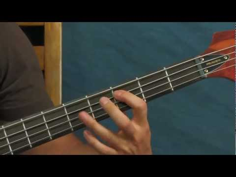 Easy Bass Guitar Lesson : Three Most Awesome Hard Rock Metal Bass Riffs  Maiden, Rage, Megadeth video