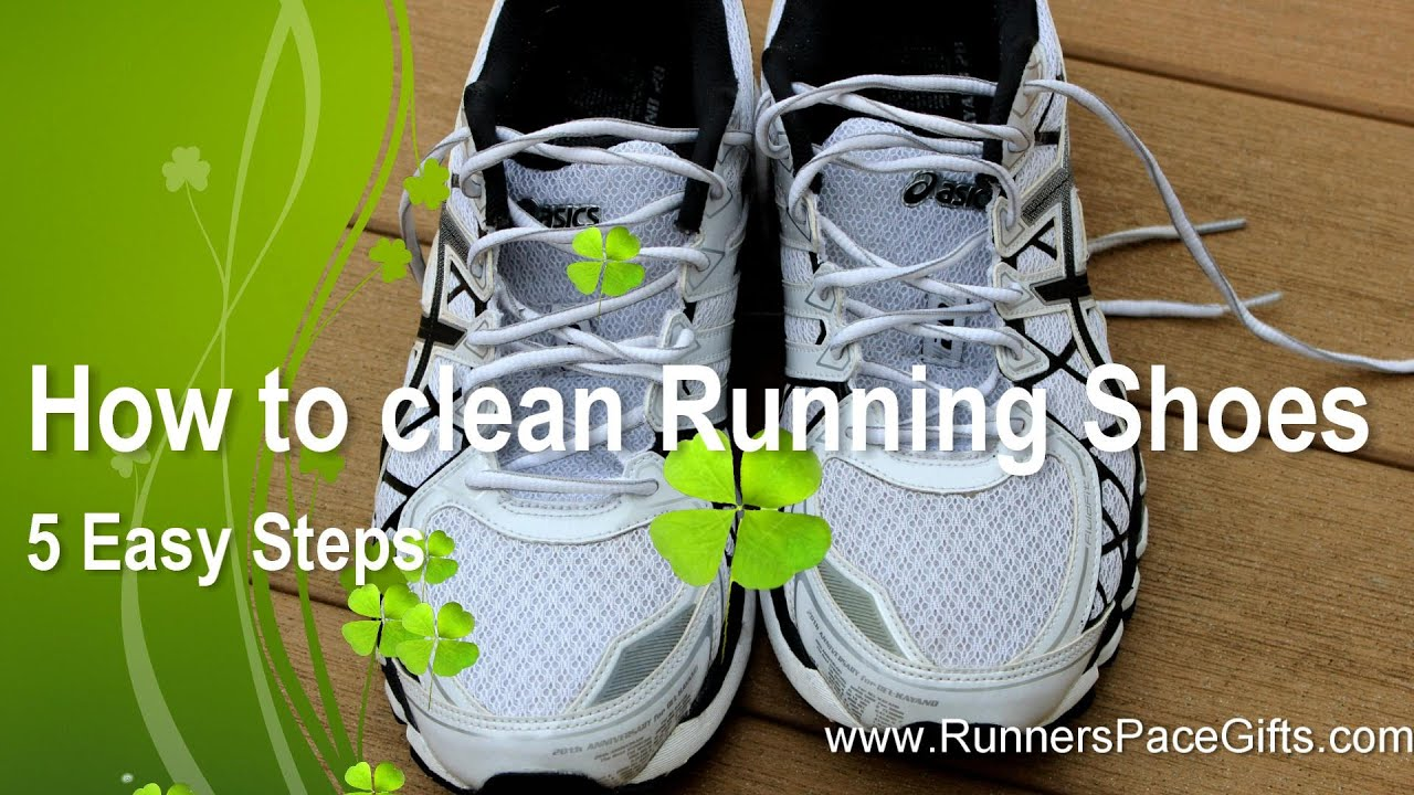 How Clean Running Shoes