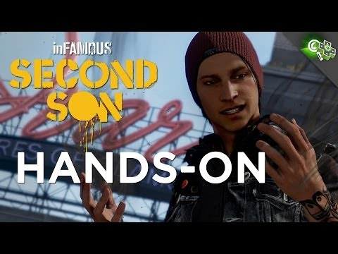 INFAMOUS: Second Son Hands On PS4 Gameplay Impressions Adam Sesslers First Hands On
