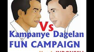 Lucu Banget Kampanye Dagelan Prabowo Dan Jokowi Pilpres 2014