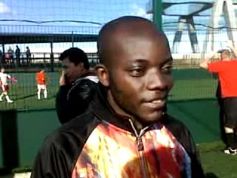 Football League - Representative of Congo FC - Albert Kalombe - Interview 19 February 2012