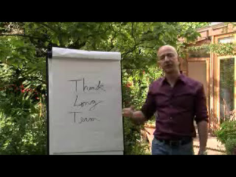 Video from Jeff Bezos about Amazon and Zappos