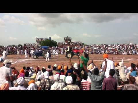 Swaraj 855 Vs Farmtrac 65 Tractor Stunt video