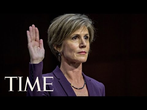 Sally Yates' Testimony Before The Senate Judiciary Committee | TIME