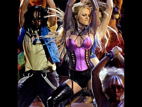 Britney Spears - Me Against The Music (AMAs 2003)