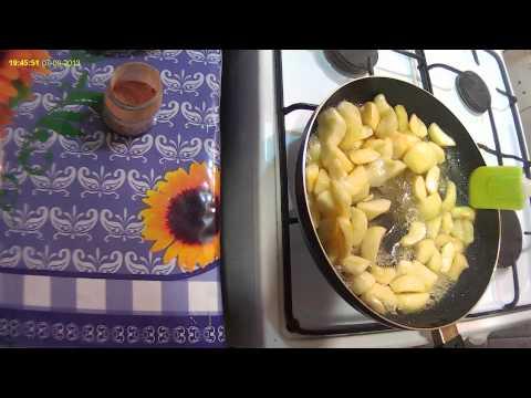 Яблочная начинка для пирожков (очень вкусная)   Apple filling for pies (very tasty)