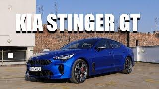 KIA Stinger GT V6 (PL) - test i jazda próbna