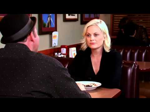 Dave Koechner Touching Amy Poehler