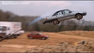 Top Gear : Car Darts!! - Top Gear - Series 4 - BBC