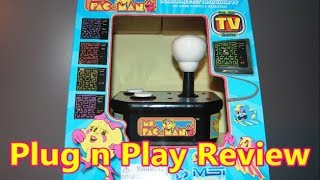 Ms. Pac-Man Plug 'N Play 2017 MSI System Review - The No Swear Gamer Ep 401