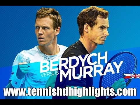 Andy Murray vs Tomas Berdych Highlights HD 1/2 Australian Open 2015