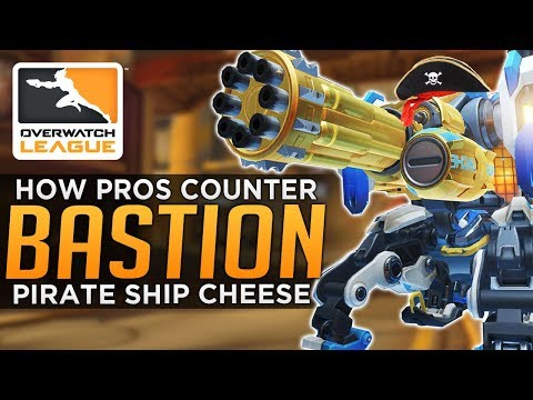 Overwatch: How PROS Counter Bastion Cheese Comp!