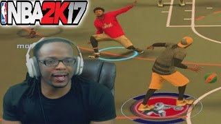 GRAND BADGE GOT HIM LEANING BACK + MORE TRASH TALKERS - NBA 2K17 My Park Gameplay