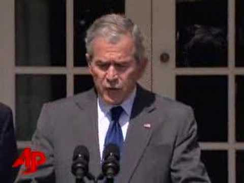 Bush Looks Offshore to Fix High Oil Prices