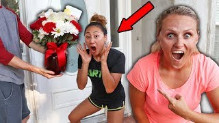 Secret CRUSH Delivers Mysterious Flowers to Lizzy Sharer? (THE TRUTH)