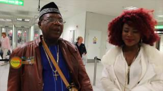 MOROCCO MADUKA ARRIVES IN LONDON